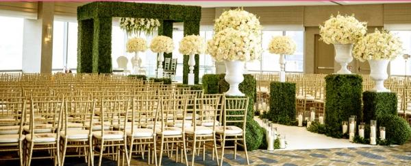 Цветы на свадьбу. Декорирование церемонии